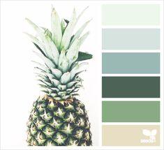 Fruit Tones by Design Seeds Colour Pallette, Color Palate, Colour Schemes, Color Combos, Color Patterns, Green Palette, Design Seeds, Colour Board, Colour Colour
