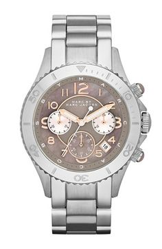 MARC BY MARC JACOBS 'Rock' Chronograph Bracelet Watch, 40mm available at #Nordstrom