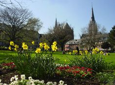 Spring at Aachen