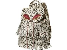 Scotch R'belle Bagpack with Pony Hair Fringes | www.eb-vloed.nl
