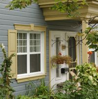Porte rustique id es pour la maison pinterest portes for Decoration contour fenetre exterieur