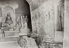 In 1900 Cave Library at Dunhuang was discovered after over 1,000 years of being hidden revealing  tens of thousands of manuscripts, the world's earliest dated printed book and hundreds of fine paintings on silk, this is the world's earliest and largest paper archive and a treasure trove of medieval art.
