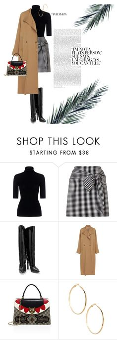 """Untitled #694"" by alexa-anita2010 ❤ liked on Polyvore featuring Marissa Webb, Miss Selfridge, Jimmy Choo, Rachel Comey, Gucci and GUESS by Marciano"