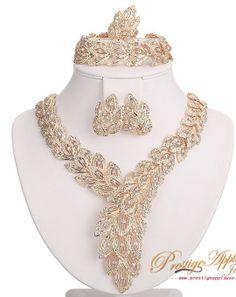 Bespoke Elegant gold plated Jewelry. African Nigerian Jewellery UK