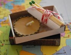 matchbox crafts | ... meditation matchbox this image courtesy of tiny meditation matchbox