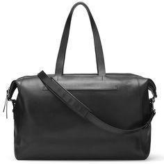 db9b278ad621 Cuyane Le Sud Black Leather Weekender Bag - Meghan Markle s Handbags