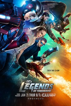 See The Atom, White Canary, Captain Cold, Hawkgirl, Firestorm, Heat Wave, Rip Hunter and Hawkman ready for action.
