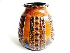 Dümler & Breiden vase West Germany pottery by VintageBreda on Etsy, €22.00