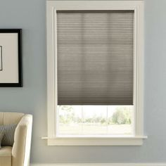 "Get a free Top Down Bottom Up upgrade on selected Levolor Blinds and Shades during January! Find these gorgeous Levolor Accordia 7/16"" Designer Double Cell Shades at Blinds.com."