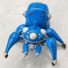 It is said that world-famous manga artist Masamune Shirow, creator of the epic series Ghost in the Shell, likes to keep spiders as pets! Tachikoma, as seen throughout the Ghost in the Shell series, are similar to spiders in appearance and build, but are actually a form of artificial intelligence. This 1/35th scale figure is of a Tachikoma as seen in the anime Ghost in the Shell: Stand Alone Comple...
