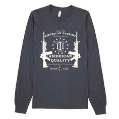 American Threeper Long Sleeve T-Shirt