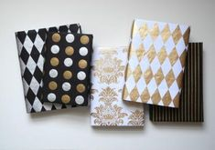 Judge a book by its cover with this Gift Wrap Book Jacket Tutorial