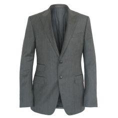 GUCCI $1,860 gray wool mohair peak lapel blazer sport coat jacket 42/52 L NEW #Gucci #TwoButton
