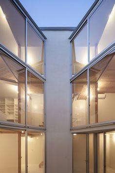 Casa dos pisos separados,© Hiroyuki Hirai