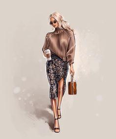 Fashion Images, Cat Art, Mornings, Sims 4, Art Girl, Girl Fashion, Bohemian, Stickers, Marketing