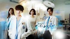 Doctor Stranger is a 2014 South Korean television series starring Lee Jong-suk, Park Hae-jin, Jin Se-yeon and Kang So-ra. Superb acting of the cast. Lee Jong Suk, Jae Suk, Korean Drama Eng Sub, Doctors Korean Drama, Park Jin Woo, Park Hae Jin, Romance, Doctor Stranger Movie, Kang Sora