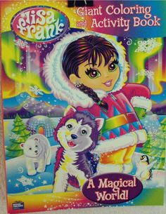 Lisa Frank: Coloring and Activity Book