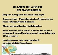 Clases en San Isidro: