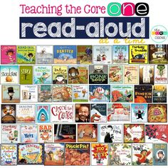 Want to know how you can teach ALL the Reading Literature Core Standards one read-aloud at a time?