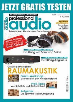 Jetzt die aktuelle Ausgabe Professional Audio in aller Ruhe genießen und testen. Kostenlos und versandkostenfrei Gratis-Heft bestellen