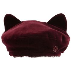 Designer Clothes, Shoes & Bags for Women Stylish Caps, Velvet Hat, Ear Hats, Cute Hats, Kawaii Clothes, Kawaii Fashion, Beret, Aesthetic Clothes, Fashion Accessories