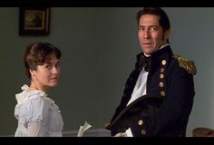 Persuasion starring Amanda Root as Miss Anne, and Ciaran Hinds as Captain Wentworth Love Movie, I Movie, Couples Quiz, Ciaran Hinds, Jane Austen Movies, Amanda, First Novel, Period Dramas, Period Movies