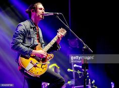 Hozier at The Apollo in Manchester on January 9, 2016. Photo by Shirlaine Forrest. More photos at the link: http://www.gettyimages.co.uk/detail/news-photo/hozier-performs-at-o2-apollo-manchester-on-january-9-2016-news-photo/504208796 #hozierschurch
