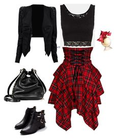 """""""fun, liberating, rock-glam!"""" by amina-isakova ❤ liked on Polyvore featuring Topshop, Lalique, Jeffrey Campbell and Juicy Couture"""