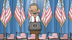 Obama Translated. I can't say that I had very high hopes for Obama's NSA reforms.  (Hello, Gitmo?)  The man can still give a good speech, ...▶ Cartoonist Mark Fiore: Obama's NSA Speech, Translated | Rise Up Times