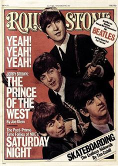 Fab Four Rolling Stone Cover
