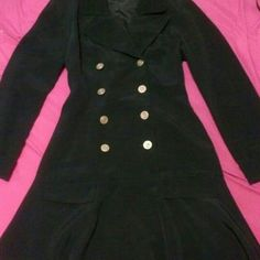 Black Nicole Miller Collared Dress Like brand new worn once Nicole Miller dress size 6 Nicole Miller Dresses