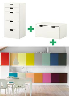 clever idea for cupboards
