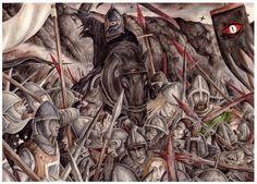 The Battle of the Morannon by peet on DeviantArt