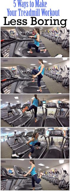 Is getting on the treadmill the last thing you want to do? Then let's ramp it up with these 5 exercises.