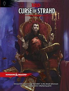 Unravel the mysteries of Ravenloft® in this dread adventure for the world's greatest roleplaying game! Under raging storm clouds, the vampire Count Strahd von Zarovich stands silhouetted against the a