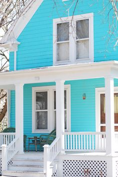 The house we want has pillars in a similar color!!