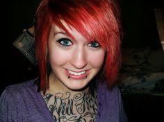 Red hair. Always.