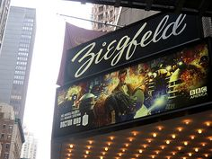 Doctor Who - Season 7 Premiere at the historical Ziegfeld theater in NYC