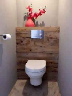 Couleur peinture et rangement pour WC et Toilette   Powder room ...