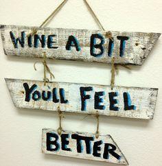 Wine wine sign wine decoration wine hand painted by AdellesAvenue, Wood Crafts, Fun Crafts, Diy And Crafts, Arts And Crafts, Rustic Signs, Wooden Signs, Wine Signs, Wine Craft, Wine Decor