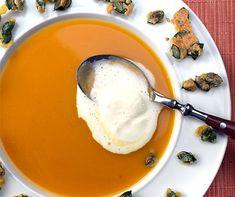 Fondue chinoise im Tässchen Gazpacho, Fondue, Panna Cotta, Pudding, Cheese, Ethnic Recipes, Desserts, Dinner Ideas, Europe