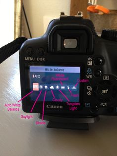 Photography 101: White Balance Dslr Photography Tips, Photography Lessons, Photography For Beginners, Photography Business, Photography Tutorials, Digital Photography, Shooting Camera, Camera Hacks, We Are The World