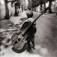 Gypsy boy, Hungary, 1931