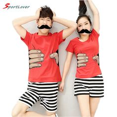 Cute Outfits Matching Ideas for Couples Sport Lover Summer NEW Man and Woman Couple T Shirt Funny Big Hand T Shirt for Lovers Casual Short Sleeve Tops Tee Matching Couple Outfits, Matching Couples, Casual Shorts, Casual Outfits, Cute Outfits, Outfits For Teens, Summer Outfits, Sports Couples, Couple Tees