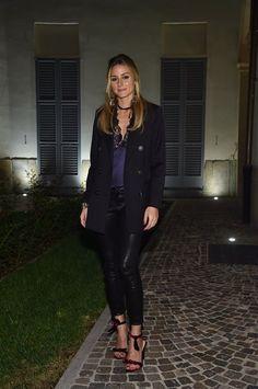 Olivia Palermo at Milan Fashion Week VIII