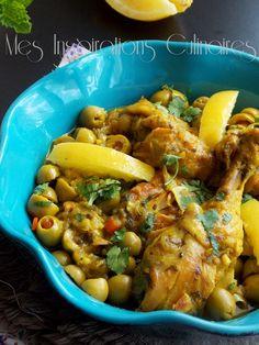 poulet au citron confits et aux olives1