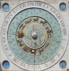 Padova Clock by adraskoy Gear Clock, Clock Display, Cool Clocks, Time Clock, Book Of Hours, Sundial, Antique Clocks, Ancient Art, Design Elements