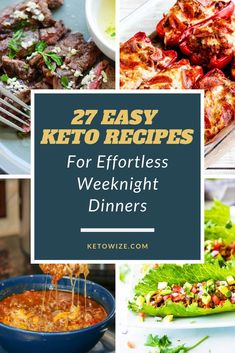 Are you looking for an awesome resource of easy keto recipes that are perfect for beginners? Starting with just 3 ingredients, you can make a delicious weeknight dinner with minimal effort. Low Carb Shrimp Recipes, Salad Recipes Low Carb, Low Carb Dinner Recipes, Keto Dinner, Diet Recipes, Low Carb Meal Plan, Low Carb Diet, Chicken And Beef Recipe, Healthy Food Blogs