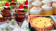 Al Fresco wedding desserts