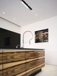 """""""White room."""" Interior. Kitchen. House 780 in Manchester, United Kingdom. ISA STUDIO."""